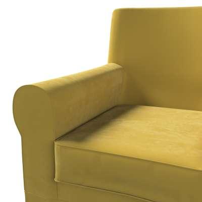 Pokrowiec na fotel Ektorp Jennylund w kolekcji Velvet, tkanina: 704-27
