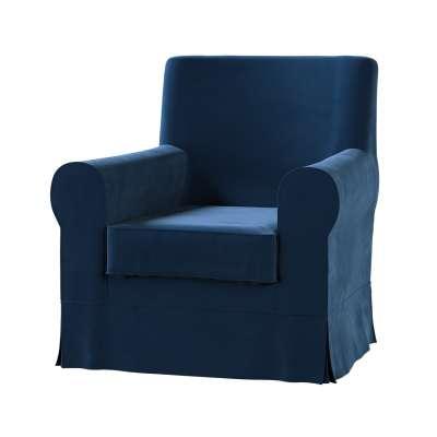 EKTORP JENNYLUND fotelio užvalkalas 704-29 tamsi melsva Kolekcija Velvetas/Aksomas