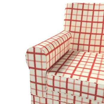 Pokrowiec na fotel Ektorp Jennylund w kolekcji Avinon, tkanina: 131-15