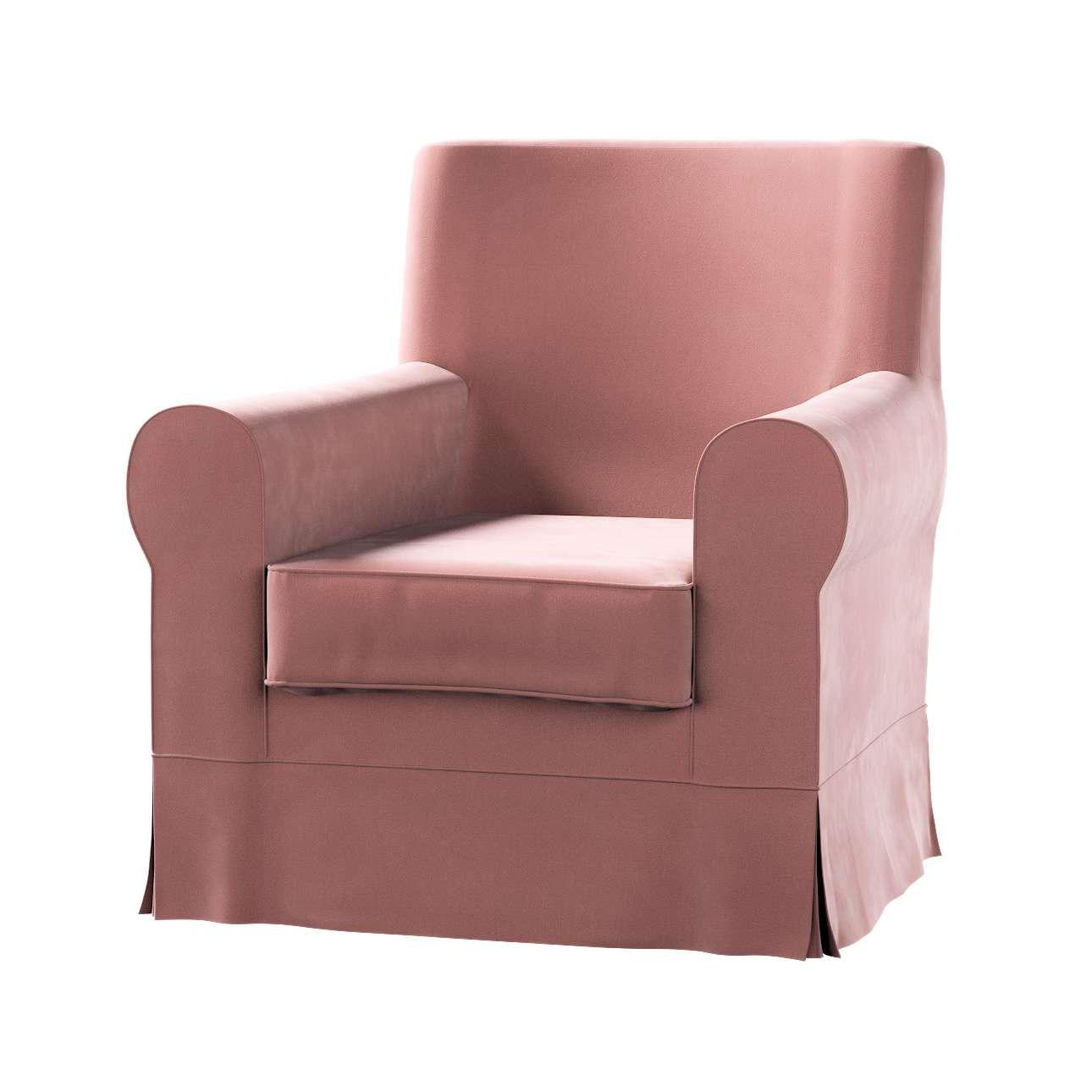 Pokrowiec na fotel Ektorp Jennylund w kolekcji Velvet, tkanina: 704-30