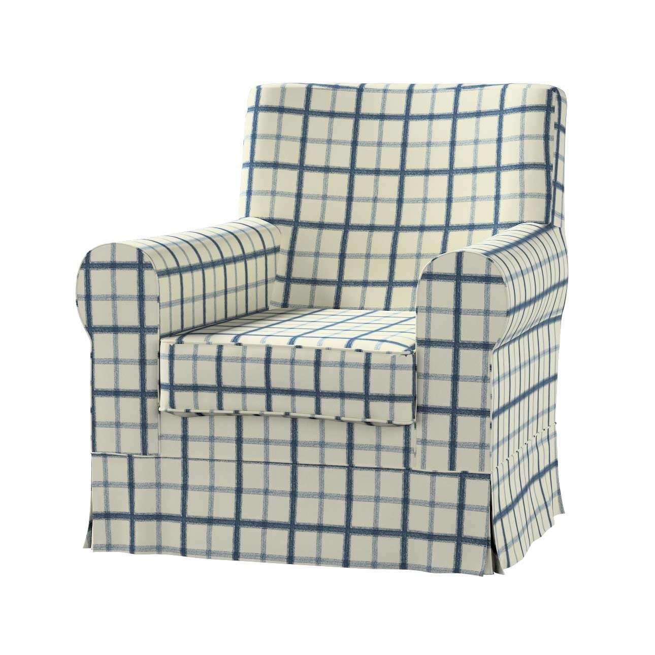 Pokrowiec na fotel Ektorp Jennylund Fotel Ektorp Jennylund w kolekcji Avinon, tkanina: 131-66