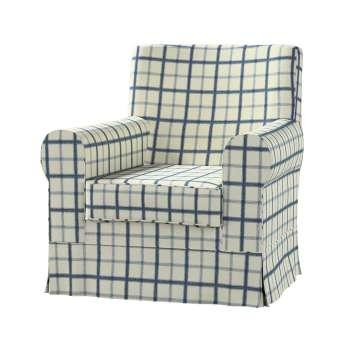 Pokrowiec na fotel Ektorp Jennylund w kolekcji Avinon, tkanina: 131-66