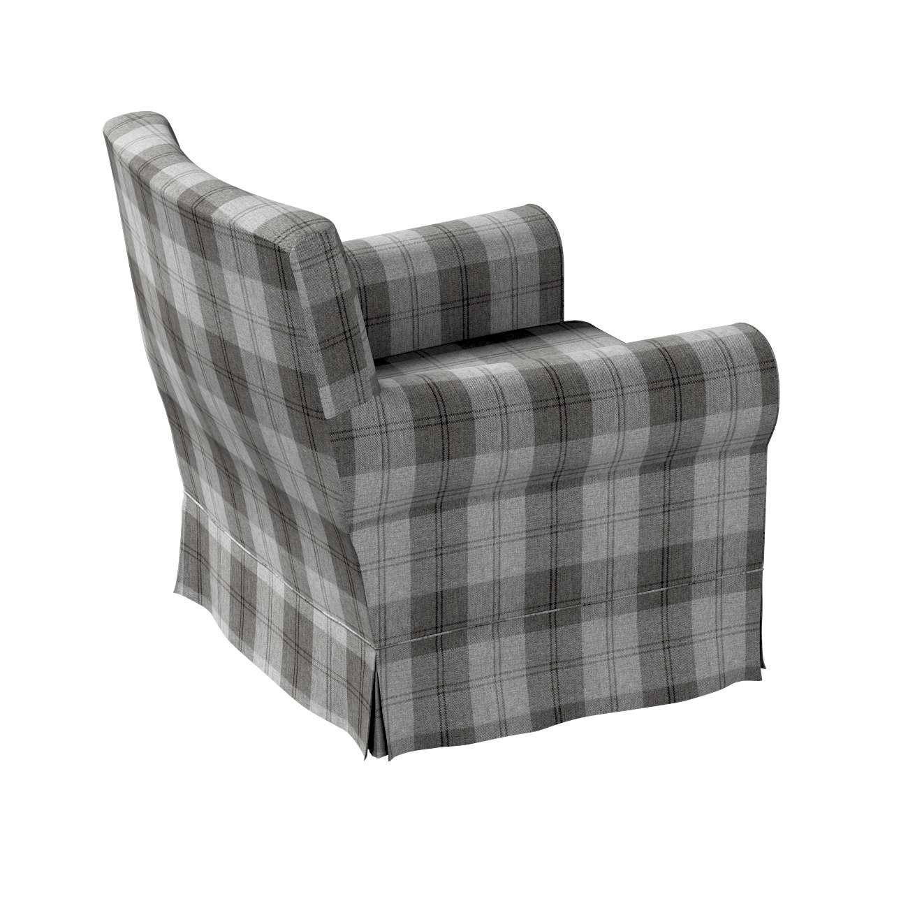 Pokrowiec na fotel Ektorp Jennylund w kolekcji Edinburgh, tkanina: 115-75