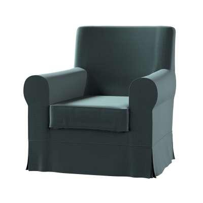Pokrowiec na fotel Ektorp Jennylund w kolekcji Ingrid, tkanina: 705-36