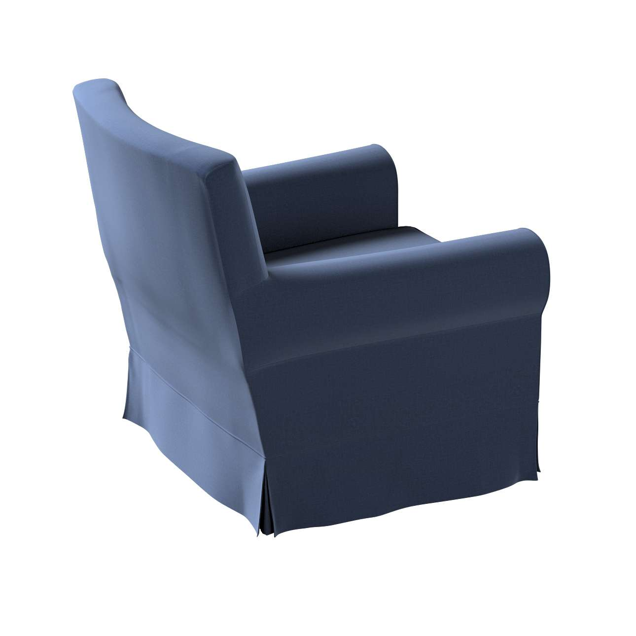 Pokrowiec na fotel Ektorp Jennylund w kolekcji Ingrid, tkanina: 705-39
