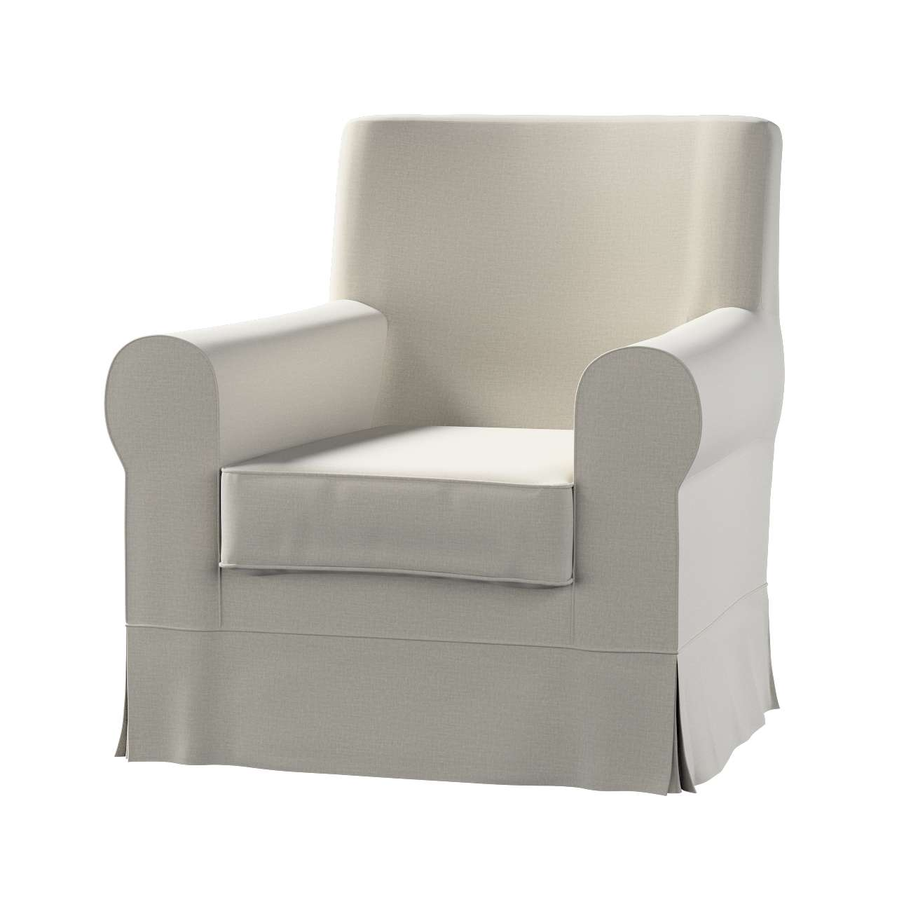 Pokrowiec na fotel Ektorp Jennylund w kolekcji Ingrid, tkanina: 705-40