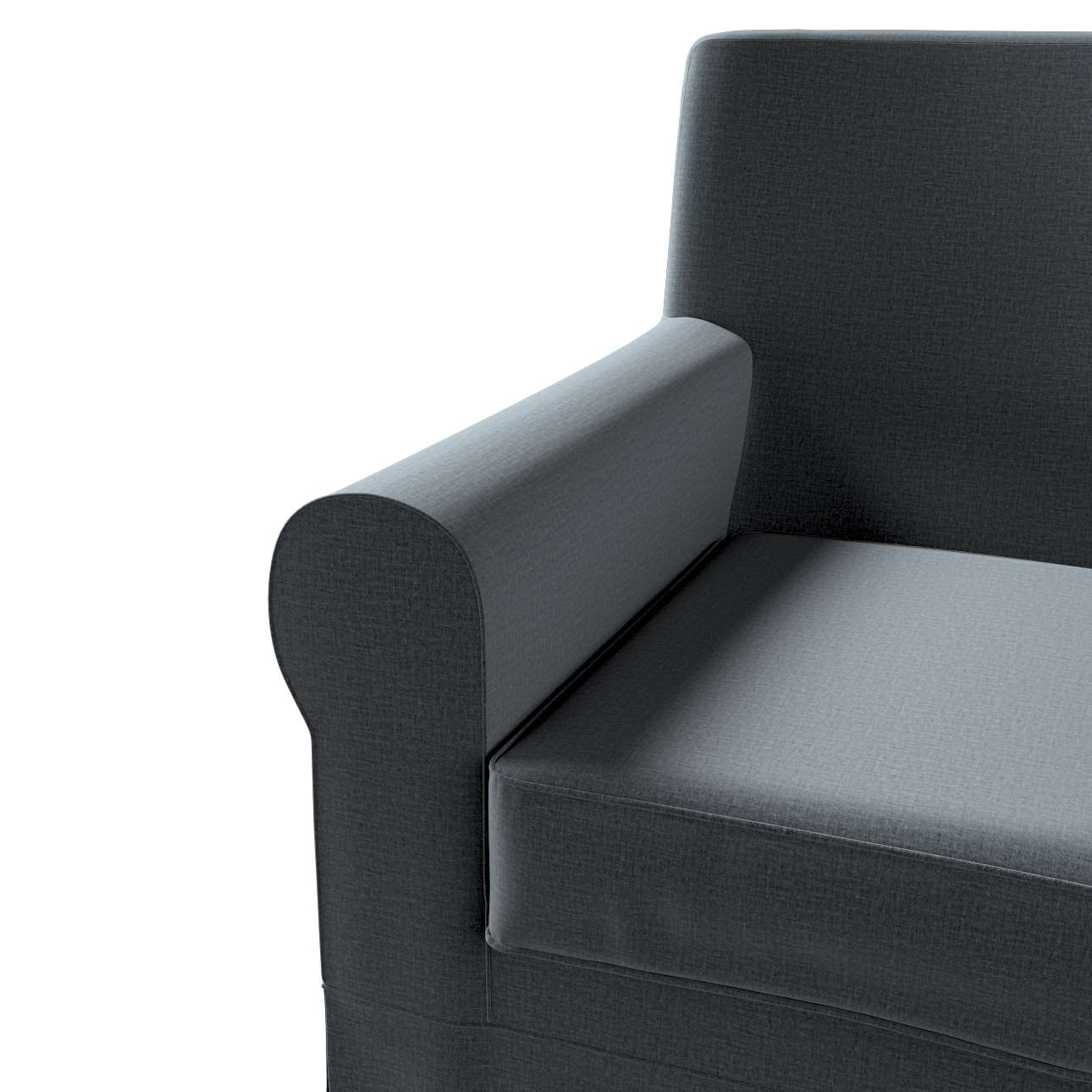 Pokrowiec na fotel Ektorp Jennylund w kolekcji Ingrid, tkanina: 705-43
