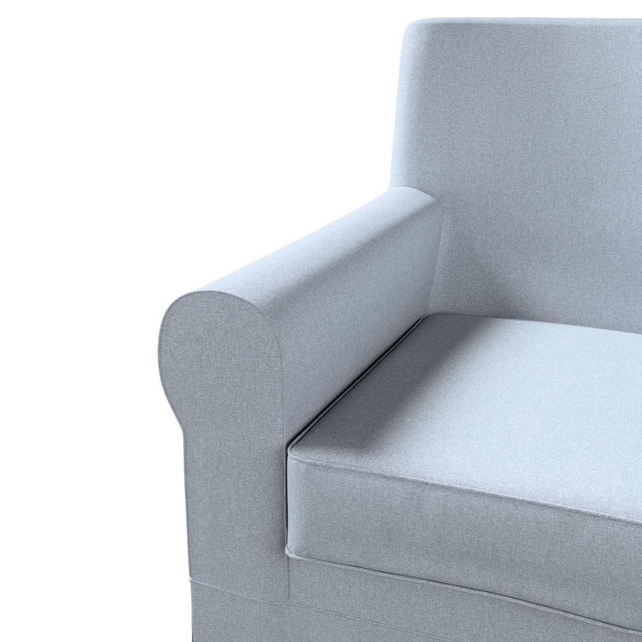 Pokrowiec na fotel Ektorp Jennylund w kolekcji Amsterdam, tkanina: 704-46