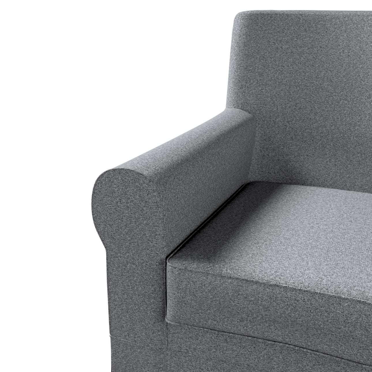 Pokrowiec na fotel Ektorp Jennylund w kolekcji Amsterdam, tkanina: 704-47