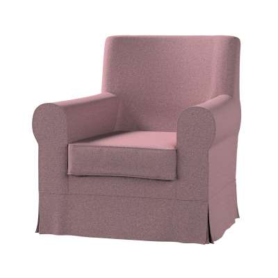 Pokrowiec na fotel Ektorp Jennylund w kolekcji Amsterdam, tkanina: 704-48