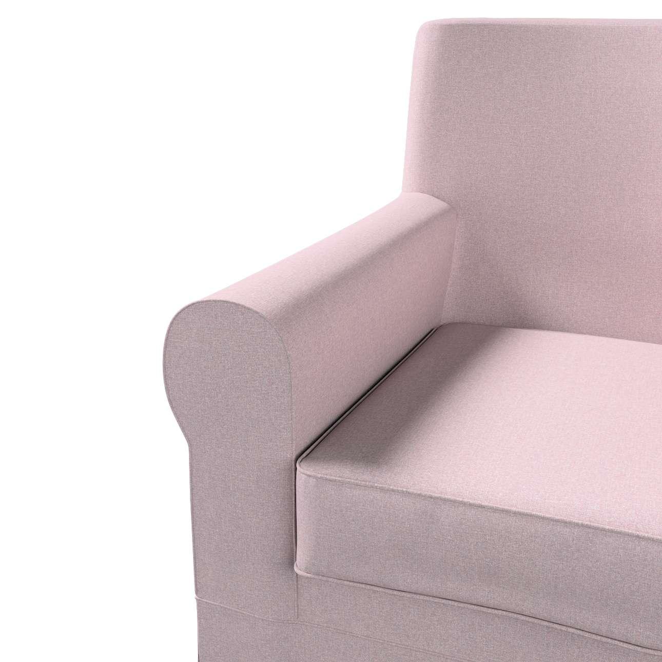 Pokrowiec na fotel Ektorp Jennylund w kolekcji Amsterdam, tkanina: 704-51