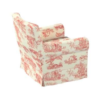 Pokrowiec na fotel Ektorp Jennylund w kolekcji Avinon, tkanina: 132-15