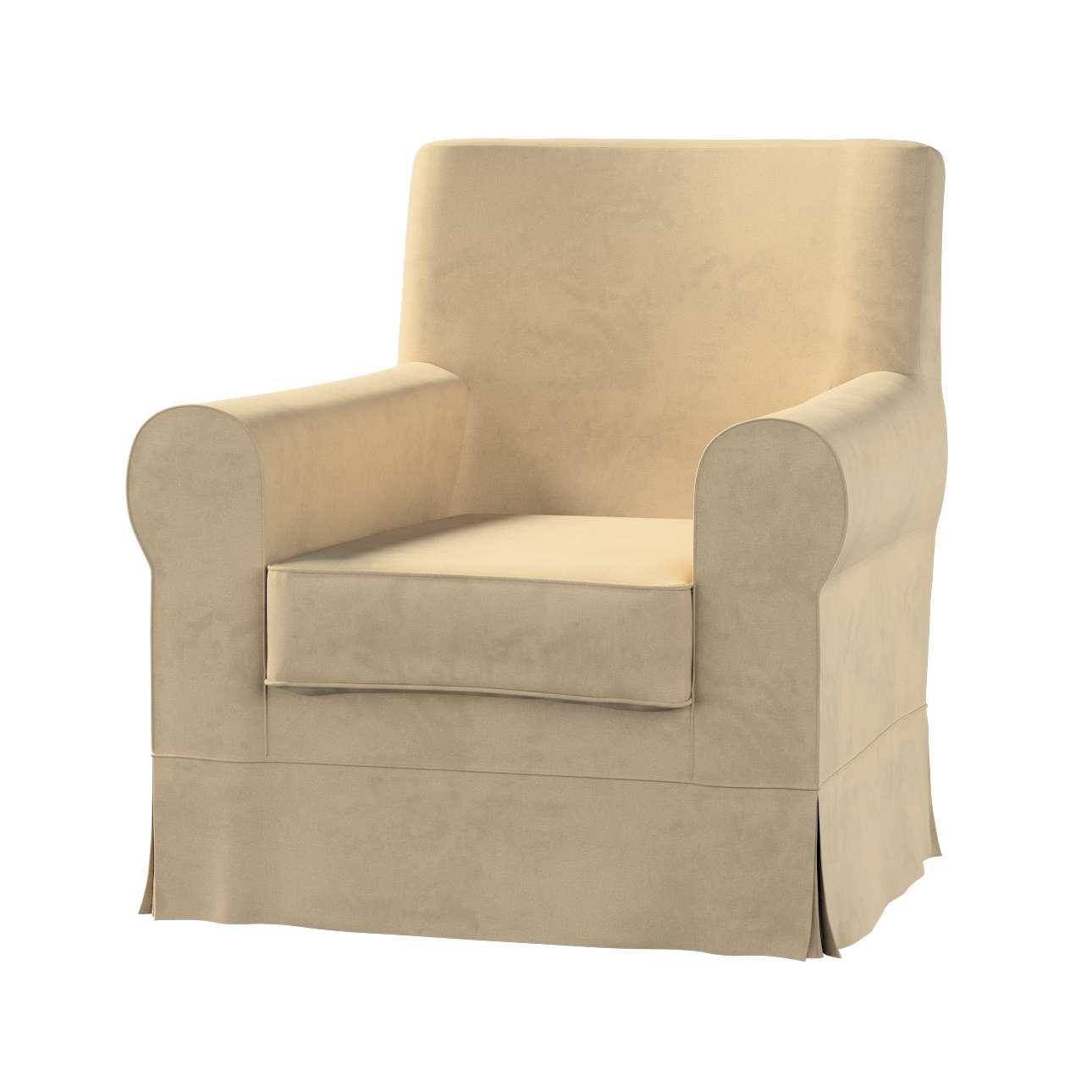 Pokrowiec na fotel Ektorp Jennylund w kolekcji Living II, tkanina: 160-82