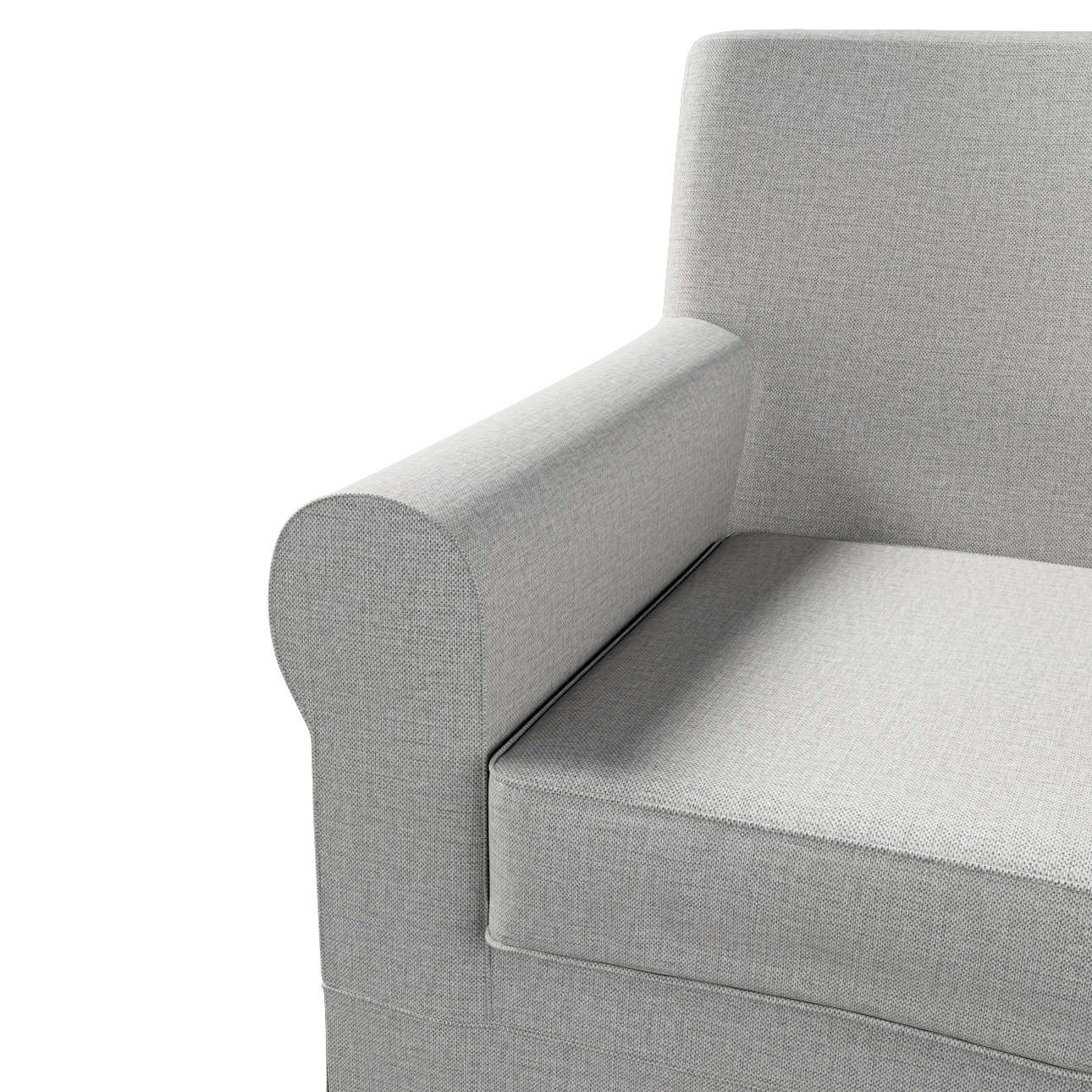 Pokrowiec na fotel Ektorp Jennylund w kolekcji Living II, tkanina: 160-89