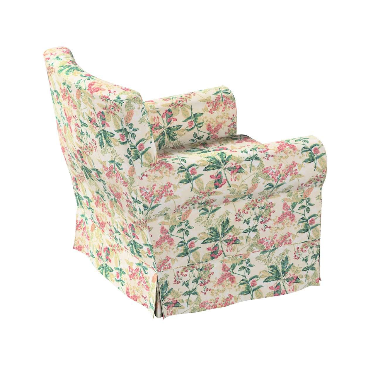 Pokrowiec na fotel Ektorp Jennylund w kolekcji Londres, tkanina: 143-41