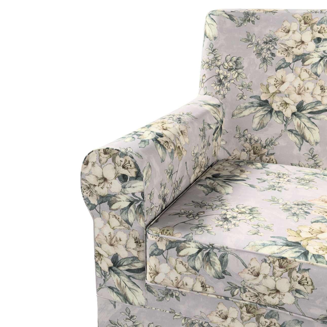 Pokrowiec na fotel Ektorp Jennylund w kolekcji Londres, tkanina: 143-36