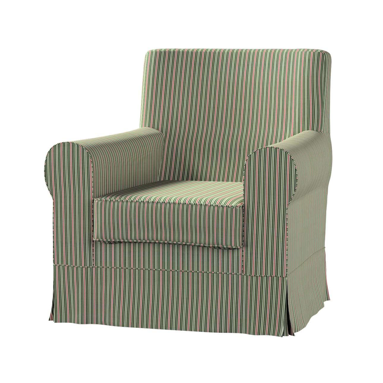 Pokrowiec na fotel Ektorp Jennylund w kolekcji Londres, tkanina: 143-42