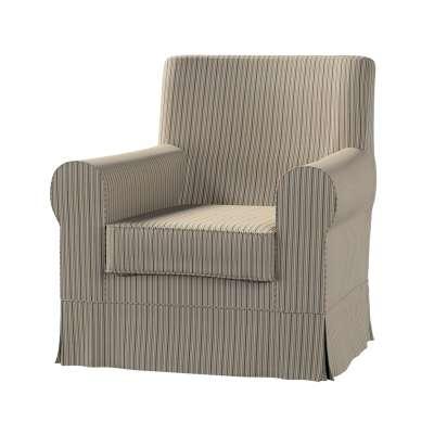 Pokrowiec na fotel Ektorp Jennylund w kolekcji Londres, tkanina: 143-38