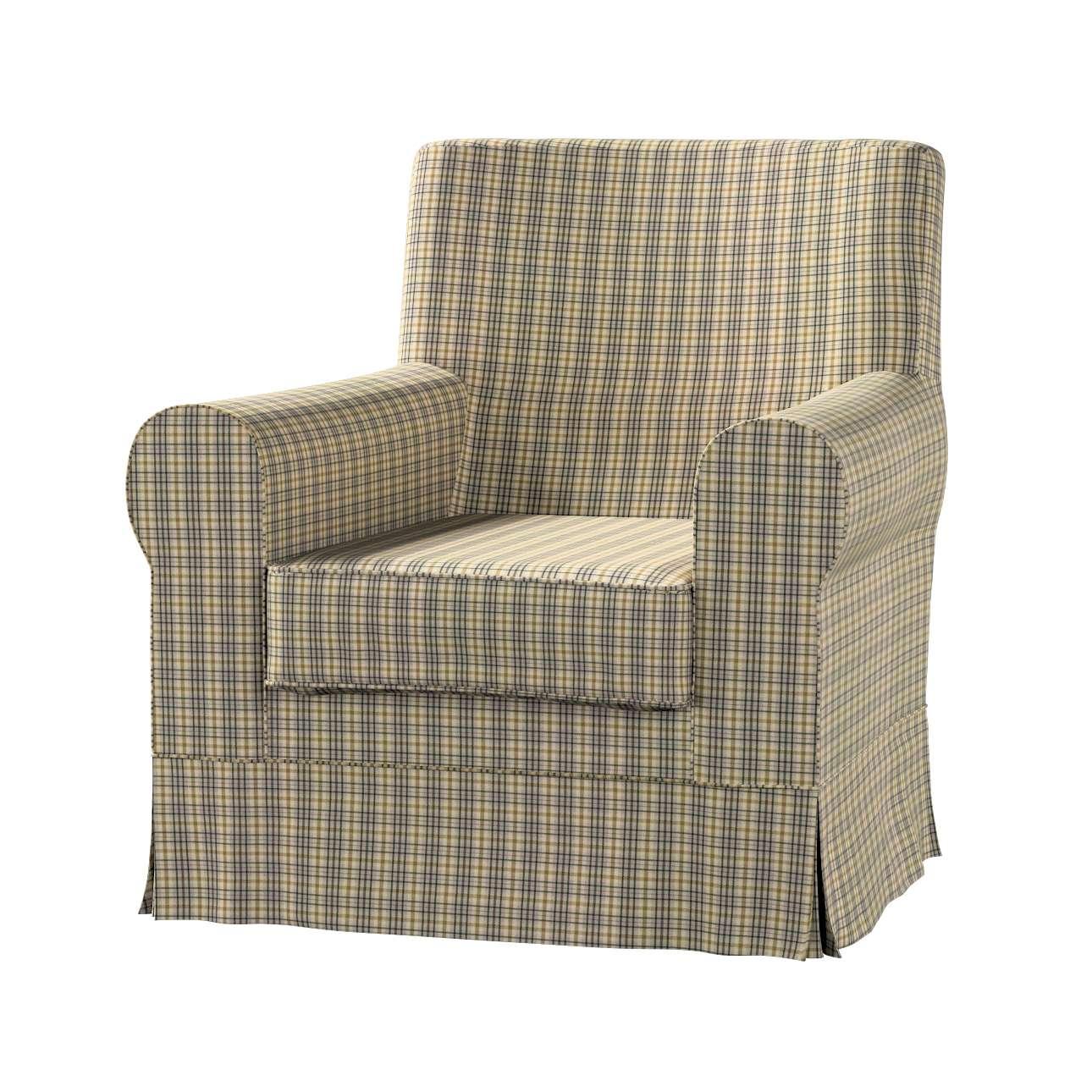 Pokrowiec na fotel Ektorp Jennylund w kolekcji Londres, tkanina: 143-39