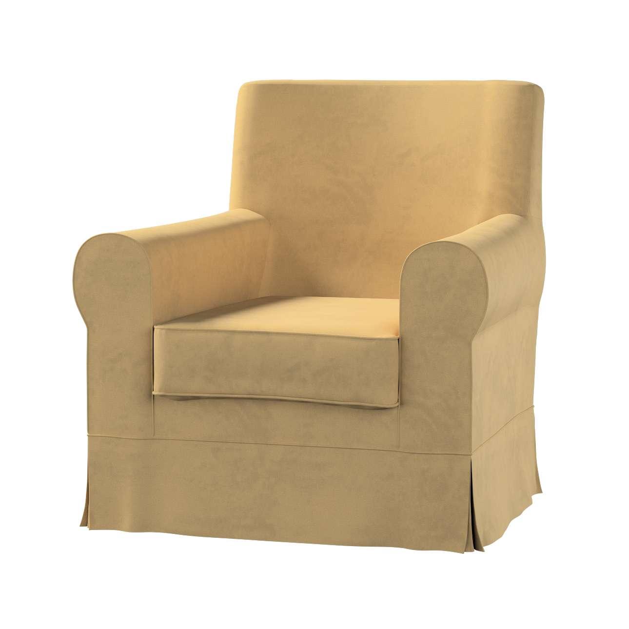 Pokrowiec na fotel Ektorp Jennylund w kolekcji Living II, tkanina: 160-93