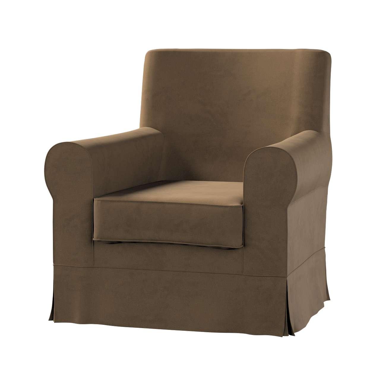 Pokrowiec na fotel Ektorp Jennylund w kolekcji Living II, tkanina: 160-94