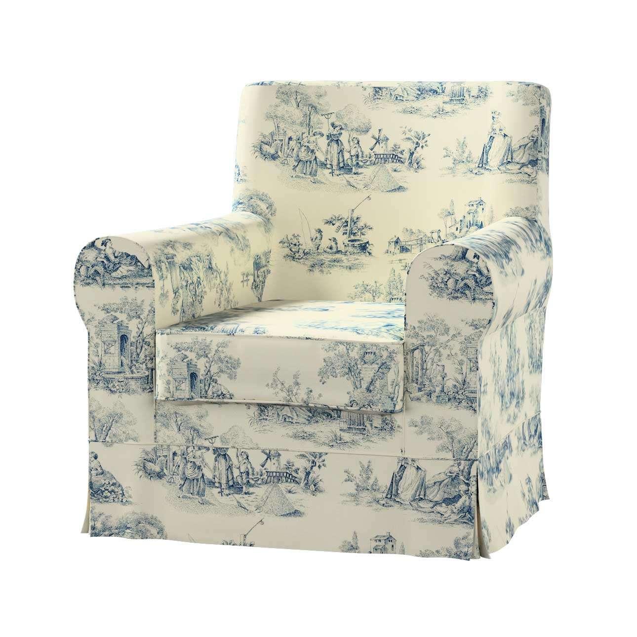 EKTORP JENNYLUND fotelio užvalkalas Ektorp Jennylund fotelio užvalkalas kolekcijoje Avinon, audinys: 132-66