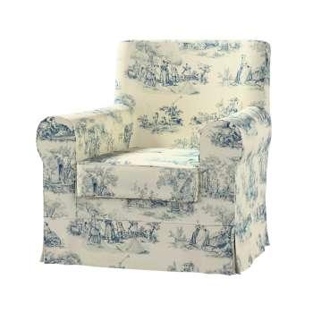 Pokrowiec na fotel Ektorp Jennylund Fotel Ektorp Jennylund w kolekcji Avinon, tkanina: 132-66