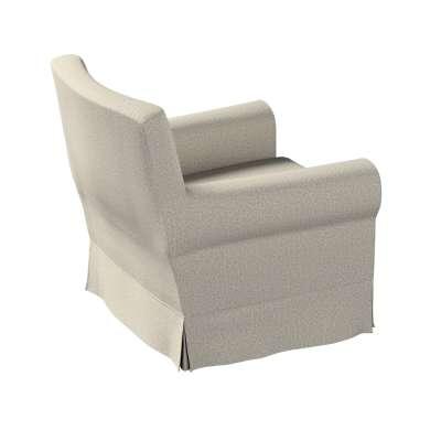 Pokrowiec na fotel Ektorp Jennylund 161-23 szaro-beżowy melanż Kolekcja Madrid