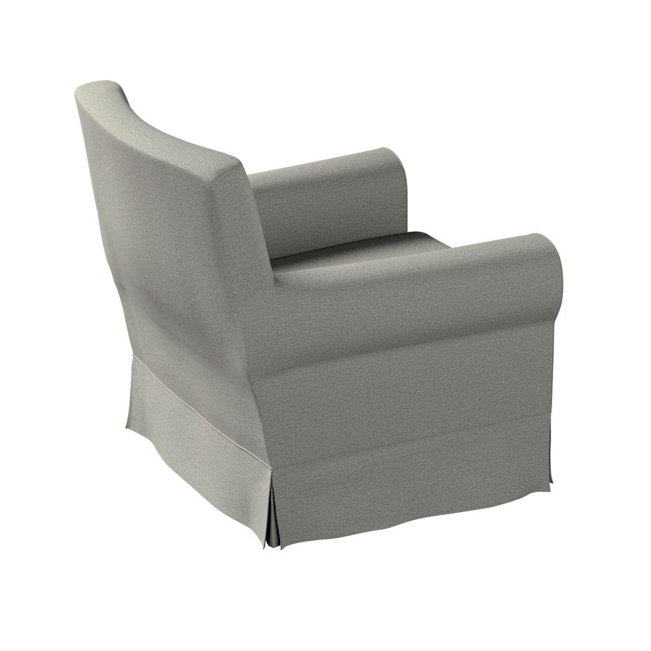 Pokrowiec na fotel Ektorp Jennylund w kolekcji Etna, tkanina: 161-25