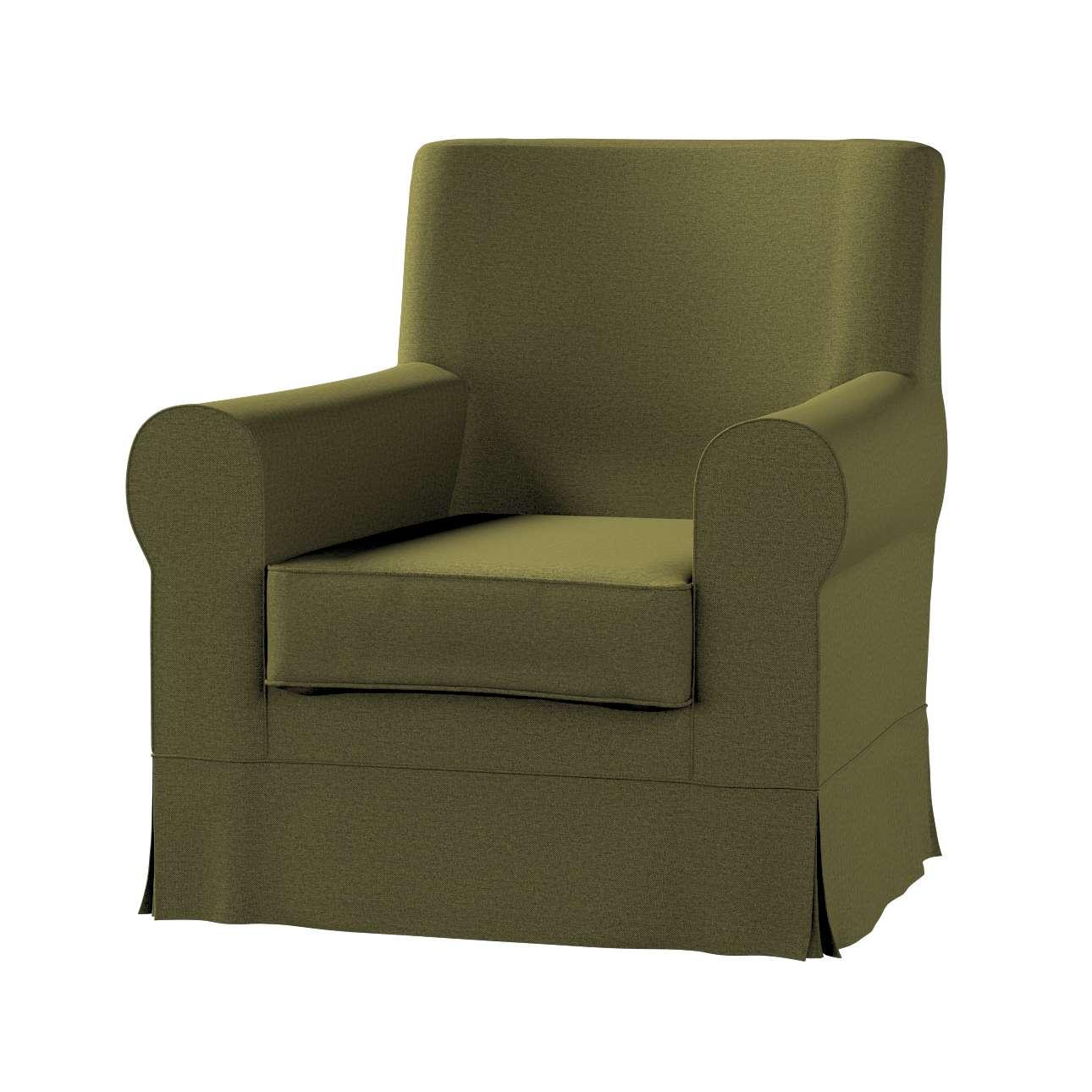 Pokrowiec na fotel Ektorp Jennylund w kolekcji Etna, tkanina: 161-26