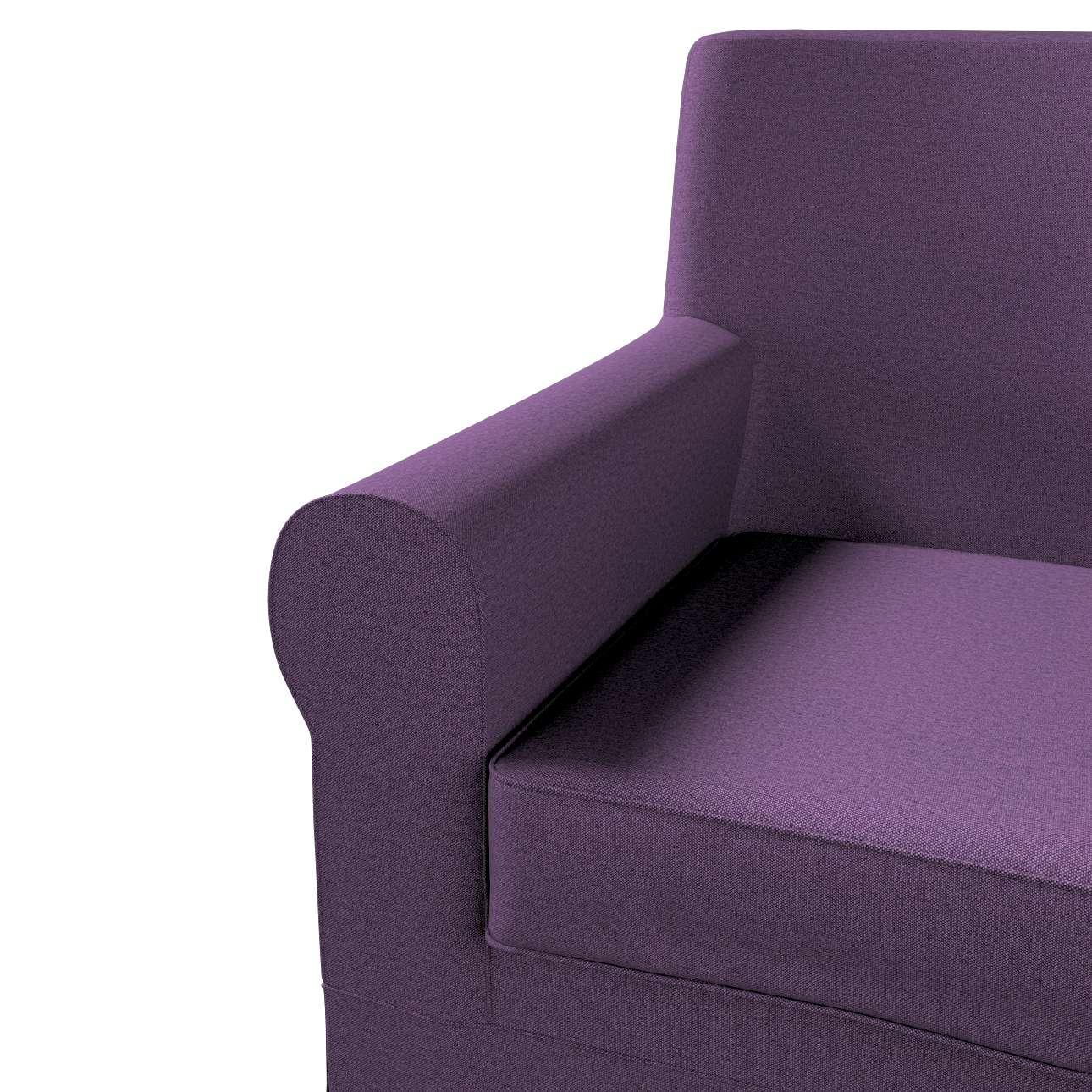 Pokrowiec na fotel Ektorp Jennylund w kolekcji Etna, tkanina: 161-27