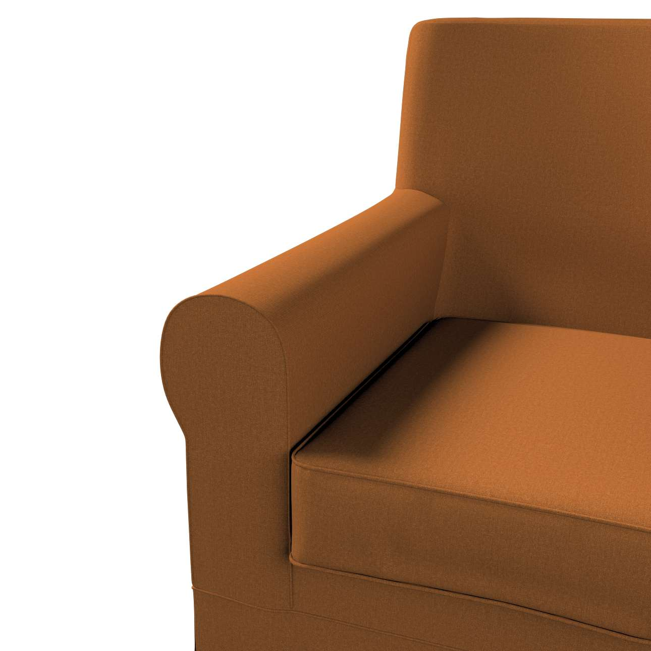 Pokrowiec na fotel Ektorp Jennylund w kolekcji Living II, tkanina: 161-28
