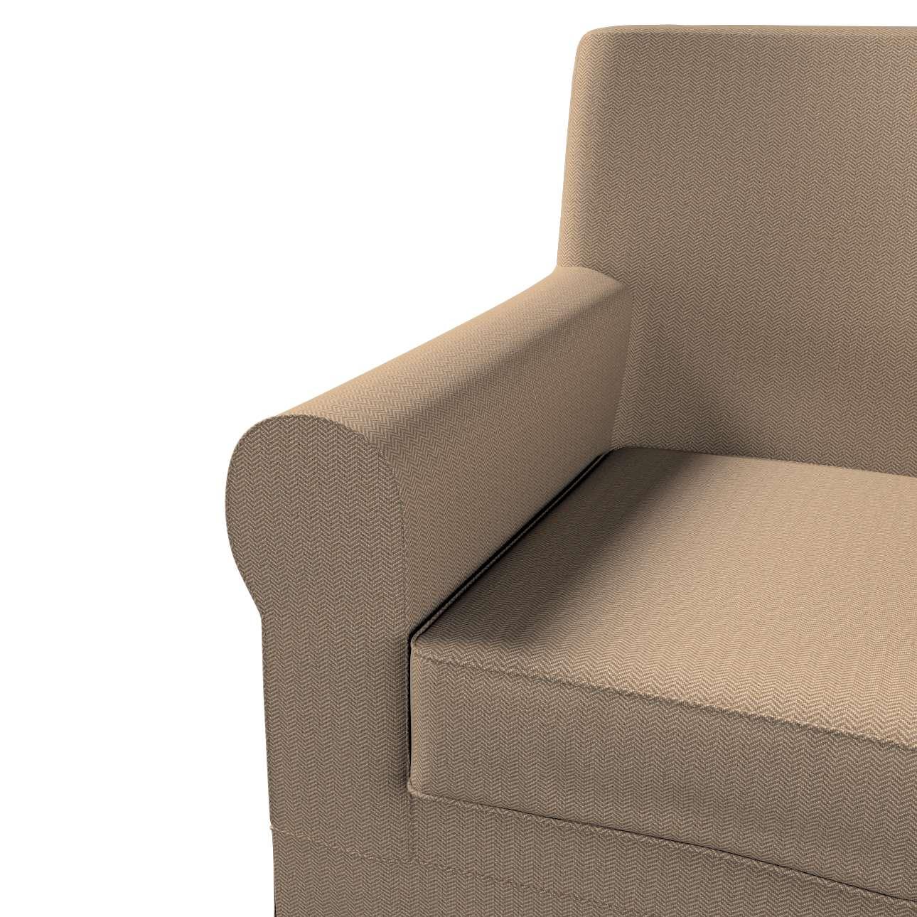 Pokrowiec na fotel Ektorp Jennylund w kolekcji Bergen, tkanina: 161-85