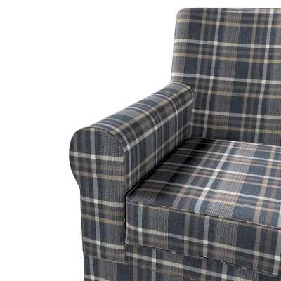 Pokrowiec na fotel Ektorp Jennylund w kolekcji Edinburgh, tkanina: 703-16