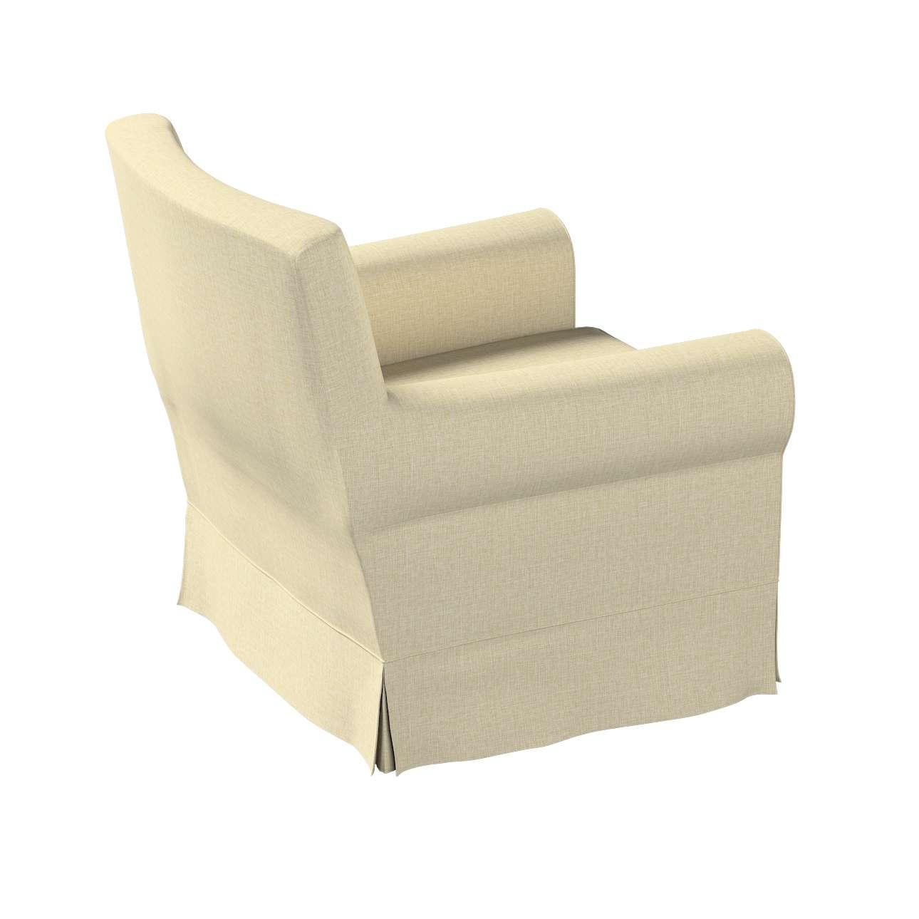 Pokrowiec na fotel Ektorp Jennylund w kolekcji Living, tkanina: 161-45