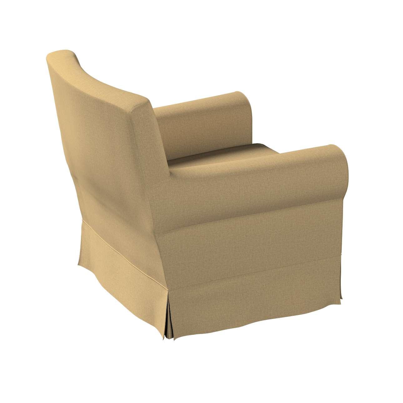 Pokrowiec na fotel Ektorp Jennylund w kolekcji Living, tkanina: 161-50