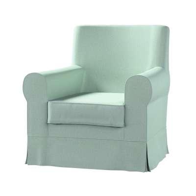 Pokrowiec na fotel Ektorp Jennylund 161-61 pastelowy błękit Kolekcja Living