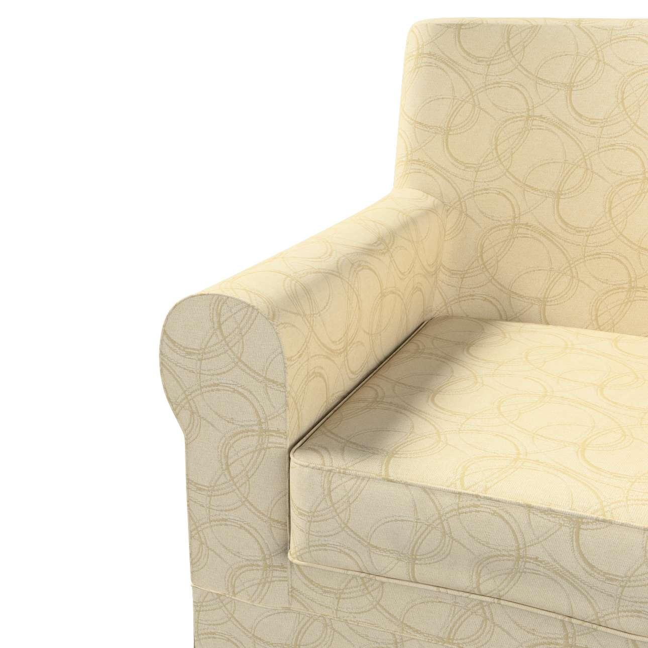 Pokrowiec na fotel Ektorp Jennylund w kolekcji Living, tkanina: 161-81