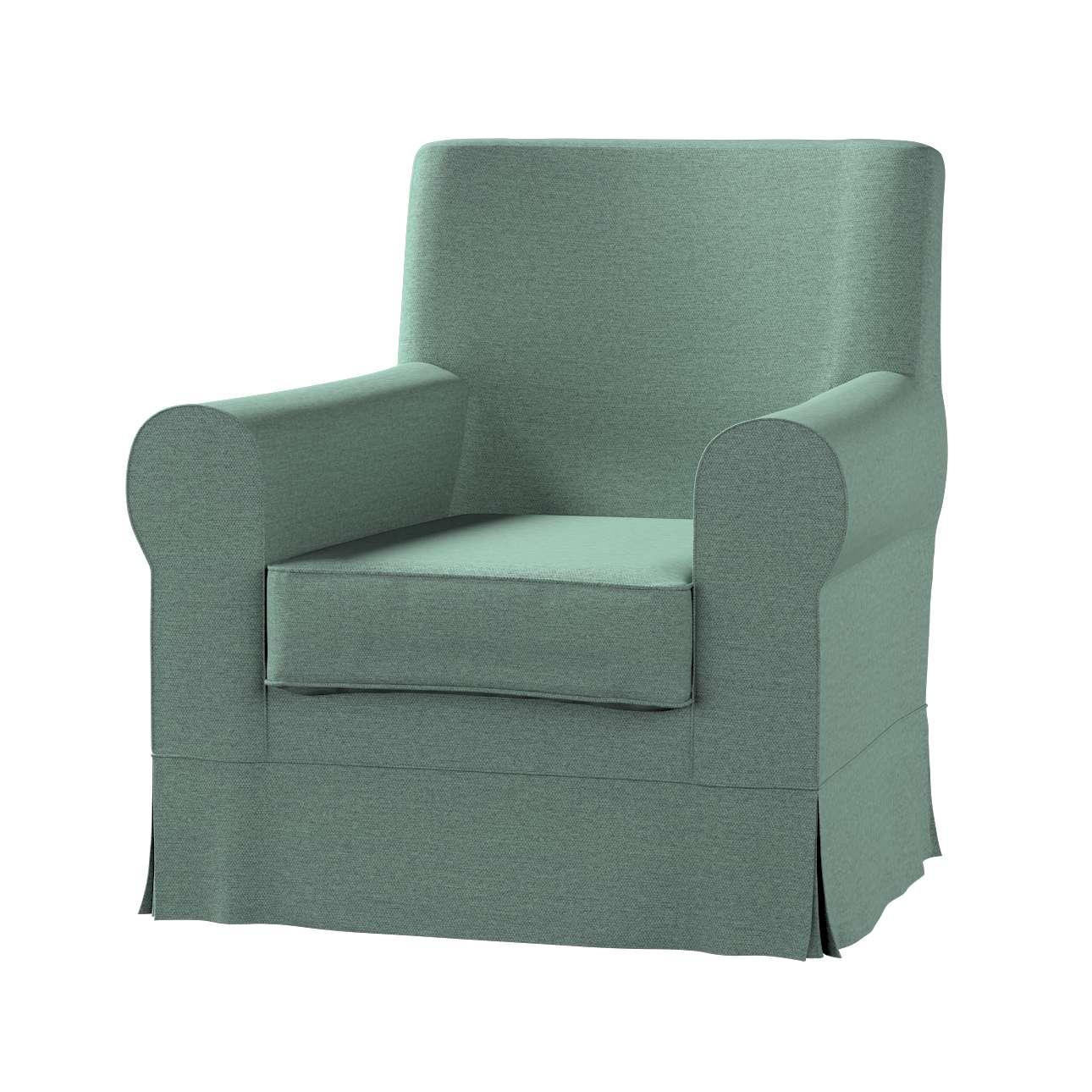 Pokrowiec na fotel Ektorp Jennylund w kolekcji Madrid, tkanina: 161-89