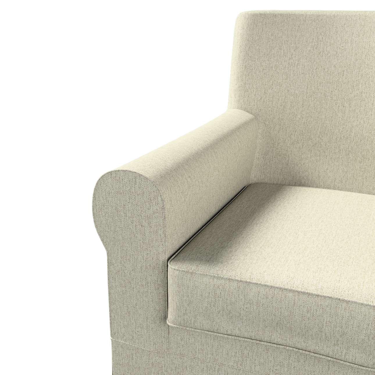 Pokrowiec na fotel Ektorp Jennylund w kolekcji Living, tkanina: 161-62