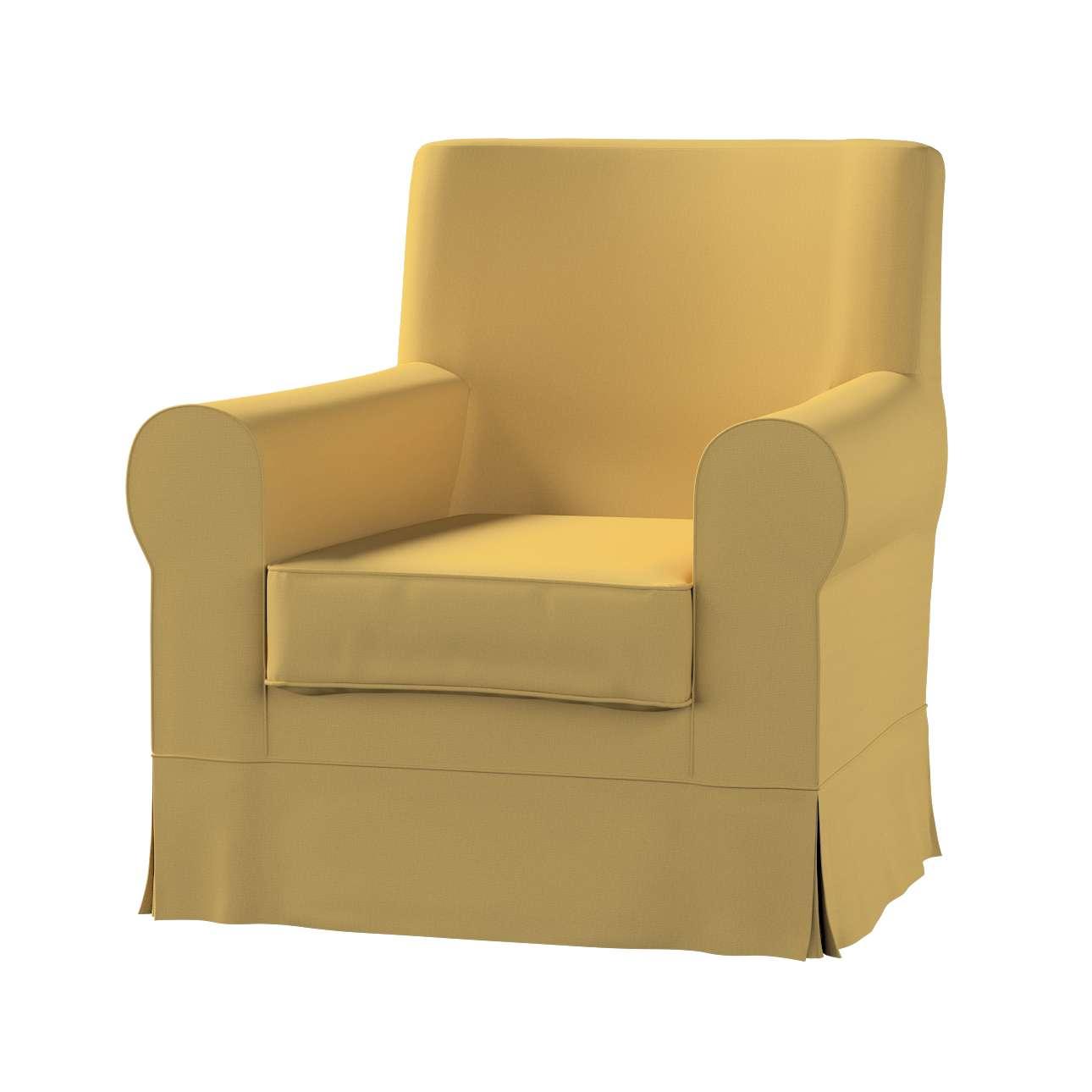 Pokrowiec na fotel Ektorp Jennylund w kolekcji Cotton Panama, tkanina: 702-41