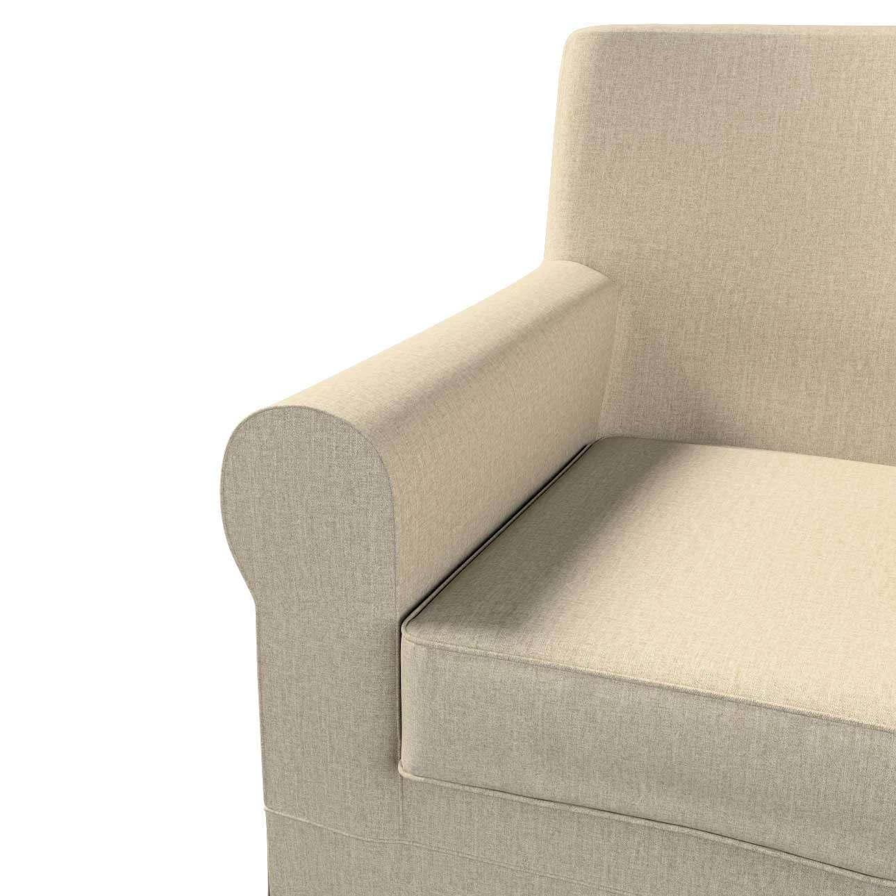 Pokrowiec na fotel Ektorp Jennylund w kolekcji City, tkanina: 704-80