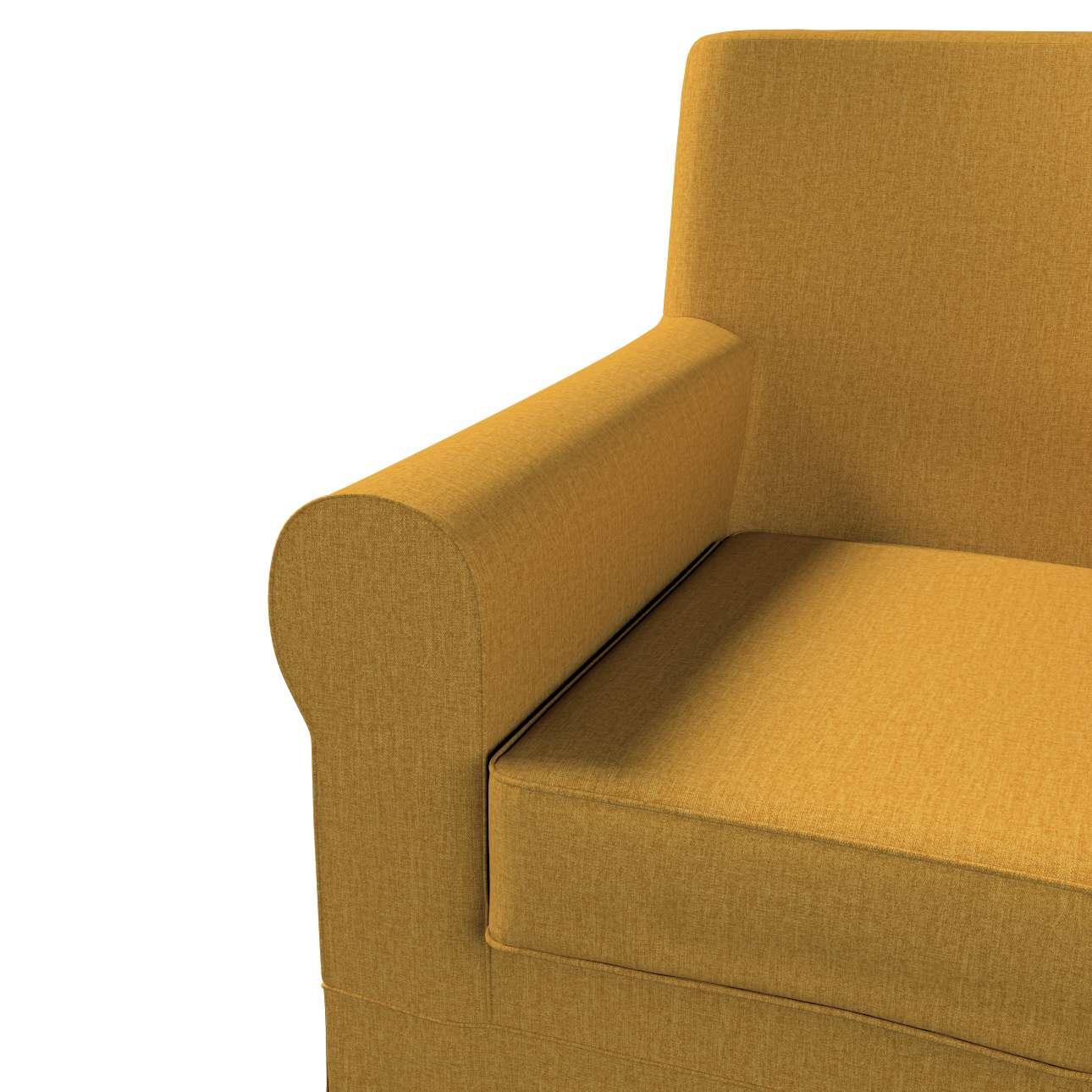 Pokrowiec na fotel Ektorp Jennylund w kolekcji City, tkanina: 704-82