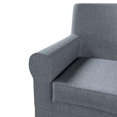 Pokrowiec na fotel Ektorp Jennylund w kolekcji City, tkanina: 704-86