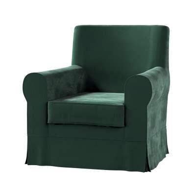 Pokrowiec na fotel Ektorp Jennylund w kolekcji Christmas, tkanina: 704-25
