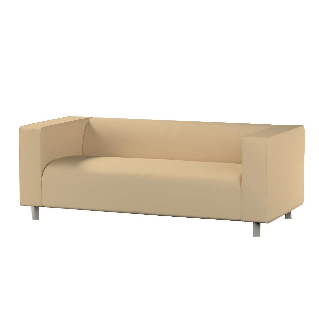 KLIPPAN dvivietės sofos užvalkalas Klippan 2-seater sofa cover kolekcijoje Cotton Panama, audinys: 702-01