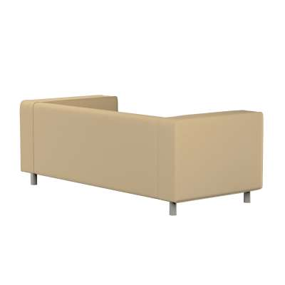 Klippan 2-seater sofa cover in collection Panama Cotton, fabric: 702-01