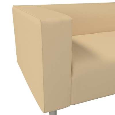 Pokrowiec na sofę Klippan 2-osobową w kolekcji Cotton Panama, tkanina: 702-01