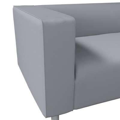 Pokrowiec na sofę Klippan 2-osobową w kolekcji Cotton Panama, tkanina: 702-07