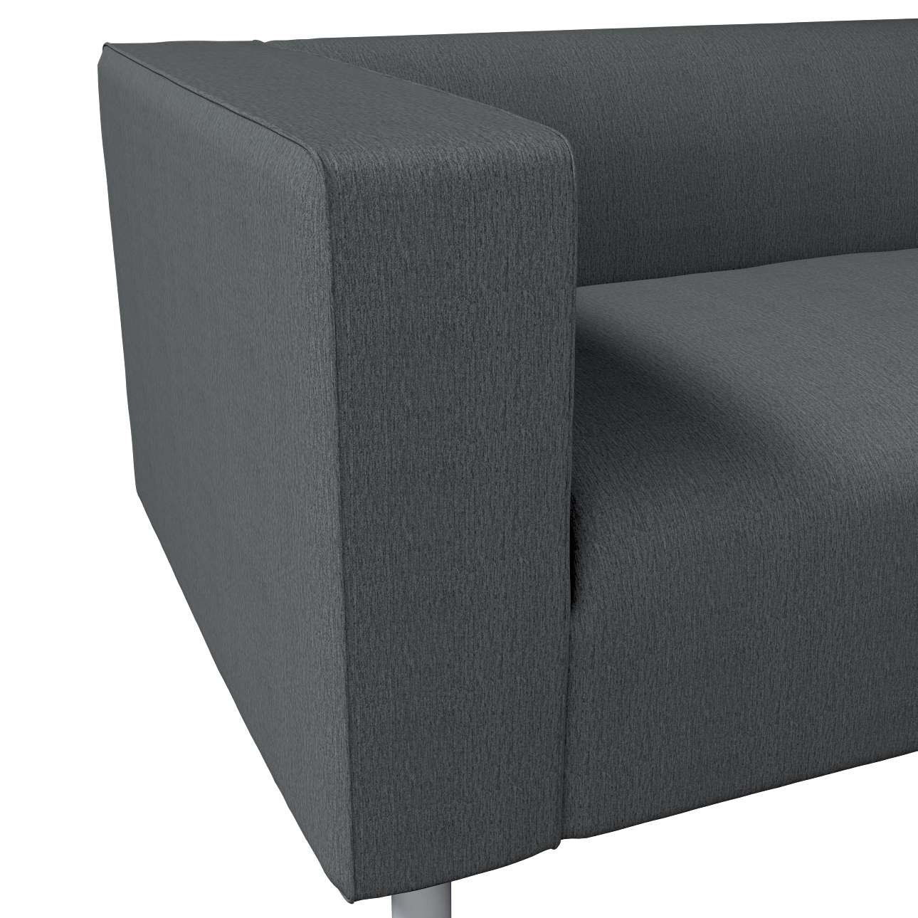 KLIPPAN dvivietės sofos užvalkalas kolekcijoje Chenille, audinys: 702-20